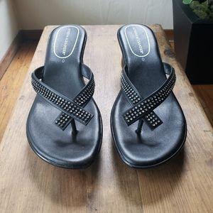 Athena Alexandor black sandals